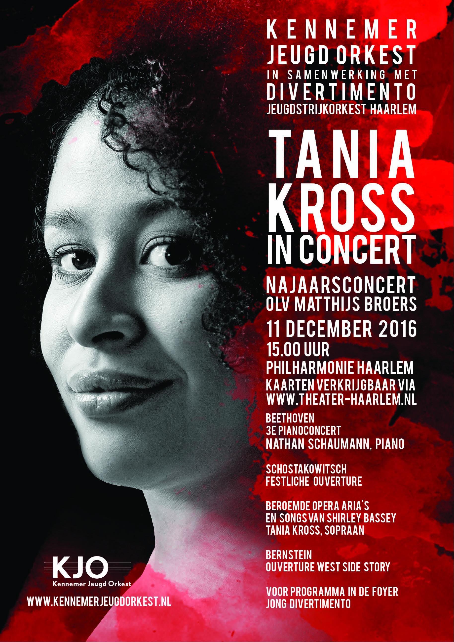 Najaarsconcert 2016 met Tania Kross