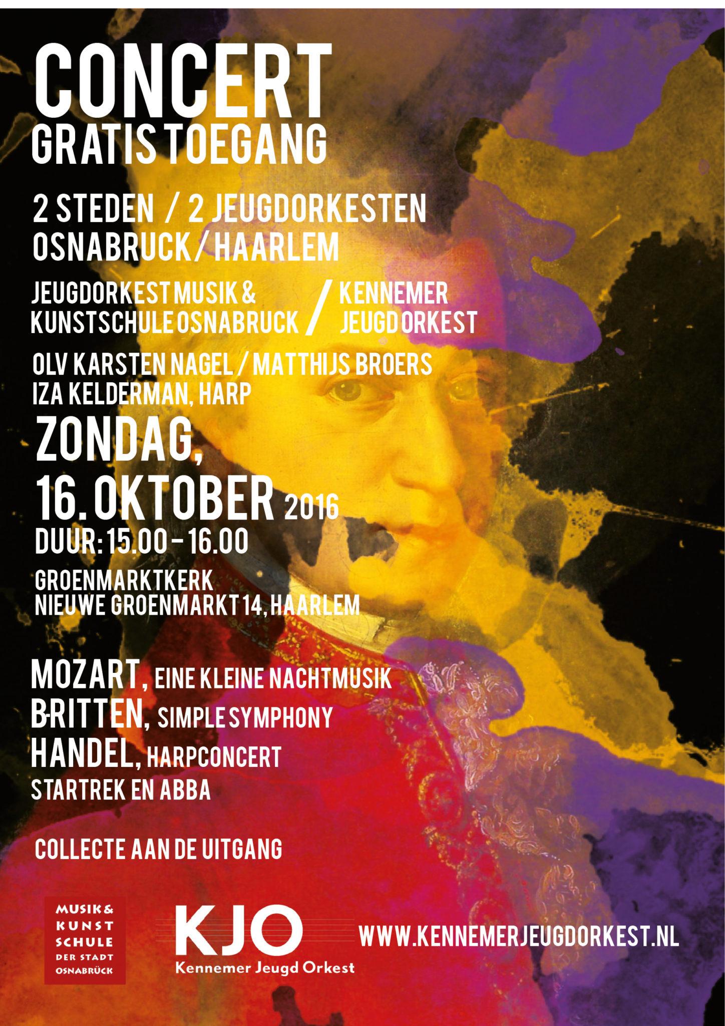 Extra Concert 2017 met Jeugdorkest Osnabruck