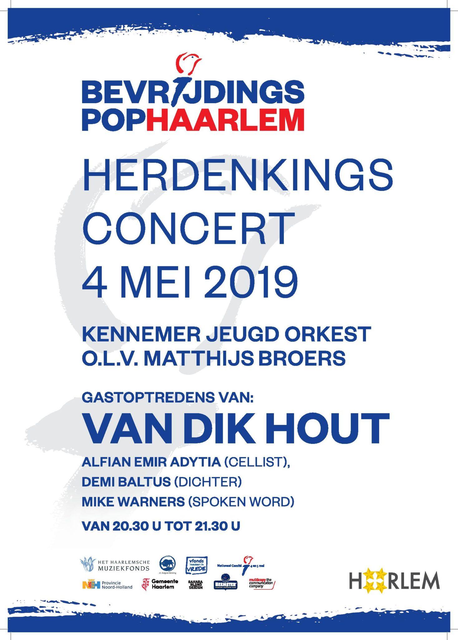 Herdenkingsconcert Haarlemmerhout 2019
